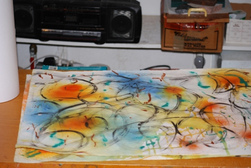 This Sink Art paper was made with Arches 90lb cold pressed water color paper