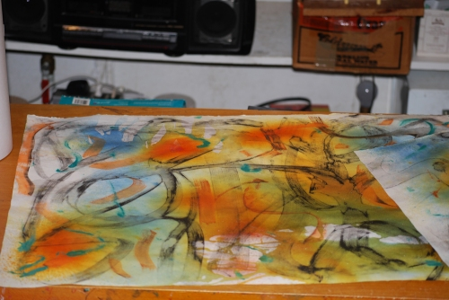 140 lb Arches water color paper for my cover paper