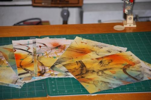 4. Torn paper 8 x 11 grain short