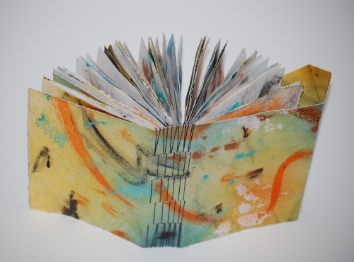 8. Long stitched book