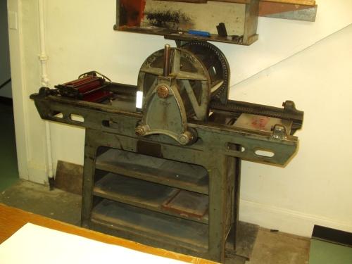 Vandercook 20 Rigid Bed Roller Series Proofing Press.