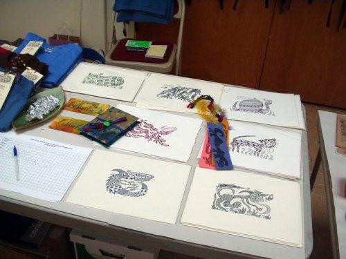 Letterpress prints by BeastlyBeasties