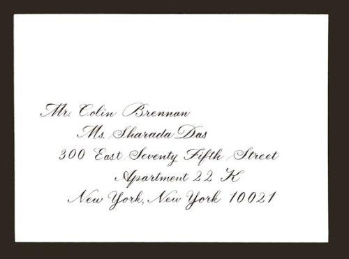 Bickham Wedding Envelope