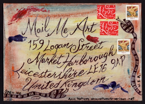 Mail Me Art Address