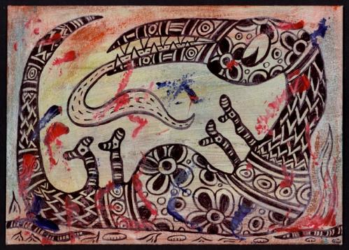 2 Mail Me Art ft © Ann Vollum 2013 USA
