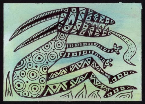 4 Mail Me Art Insert © Ann Vollum USA